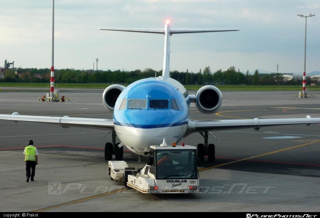 Fokker 70 - PH-KZA operated by KLM Cityhopper #fokker #klm #klmcityhopper