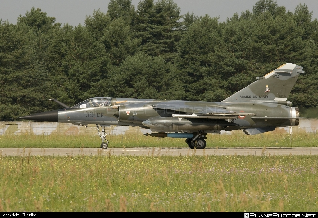 Dassault Mirage F1CR - 604 operated by Armée de l´Air (French Air Force) #armeedelair #dassault #frenchairforce