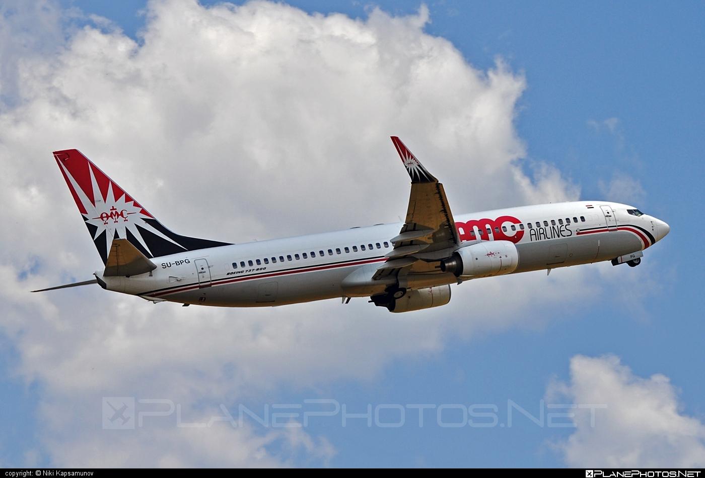 Boeing 737-800 - SU-BPG operated by AMC Airlines #amcairlines #b737 #b737nextgen #b737ng #boeing #boeing737
