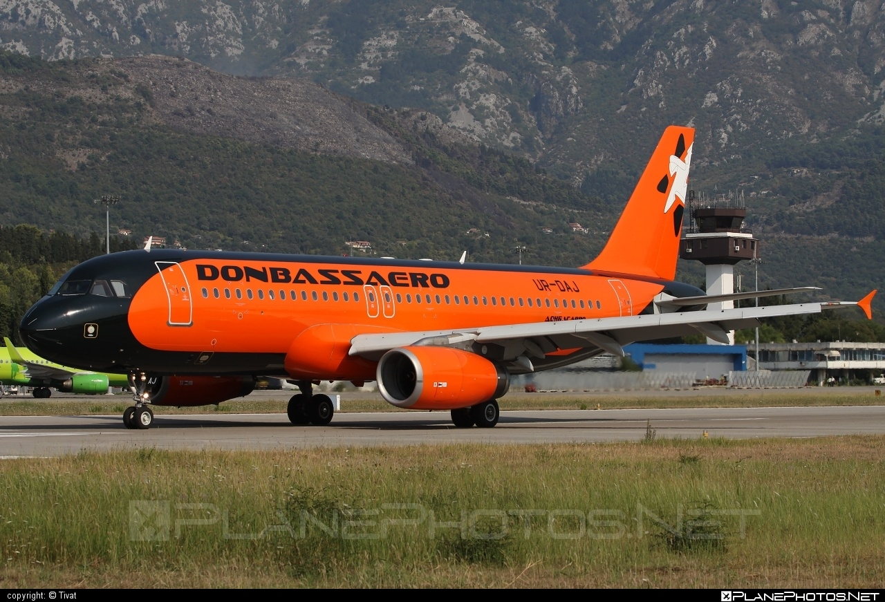 Airbus A321-232 - UR-DAJ operated by Donbassaero #a320family #a321 #airbus #airbus321