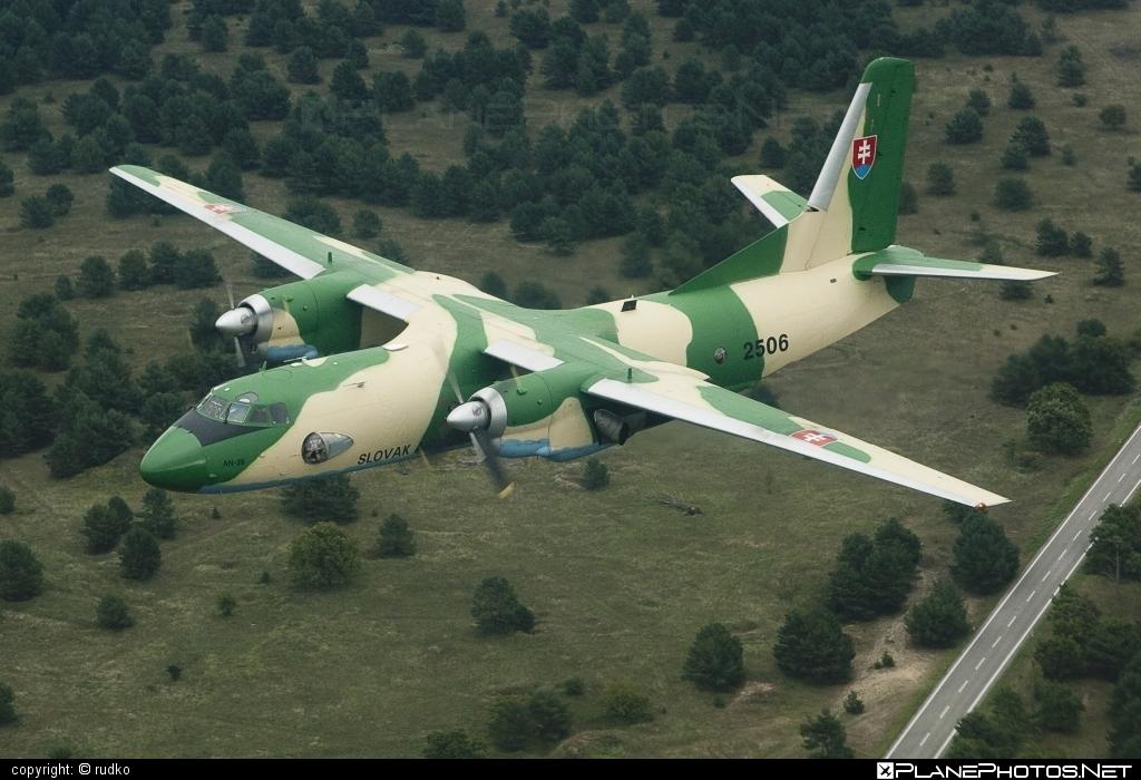 Vzdušné sily OS SR (Slovak Air Force) Antonov An-26 - 2506 #an26 #antonov #antonov26 #slovakairforce #vzdusnesilyossr