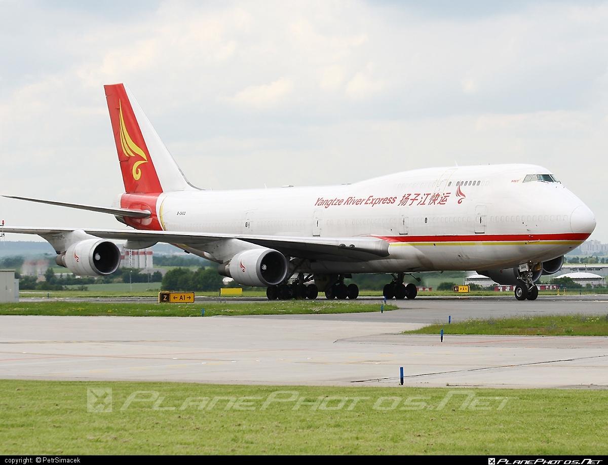 Boeing 747-400F - B-2432 operated by Yangtze River Express #b747 #boeing #boeing747 #jumbo