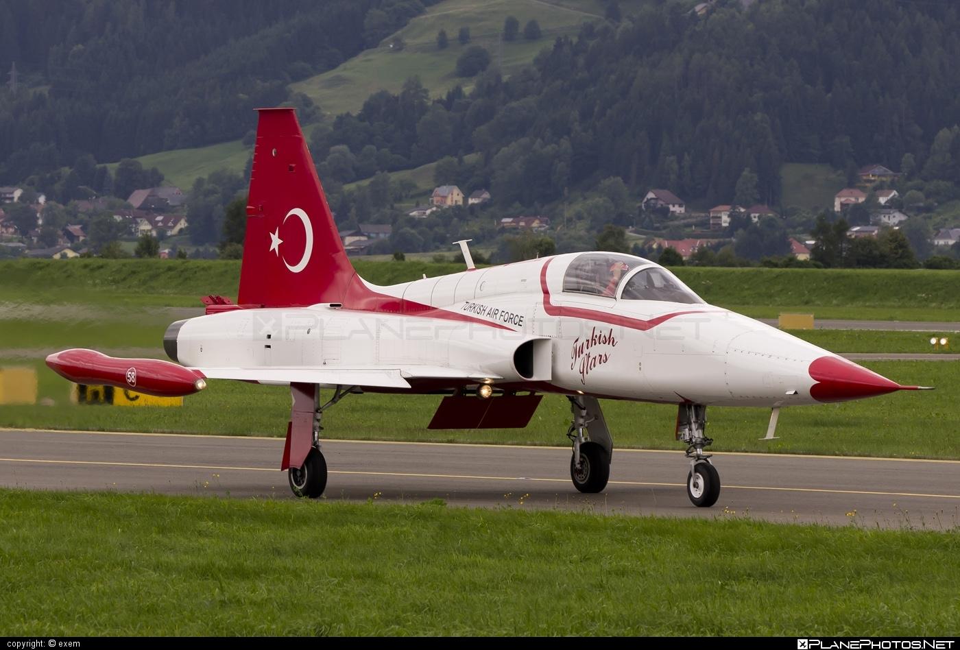 Canadair NF-5A Freedom Fighter - 71-3058 operated by Türk Hava Kuvvetleri (Turkish Air Force) #canadair #turkishairforce