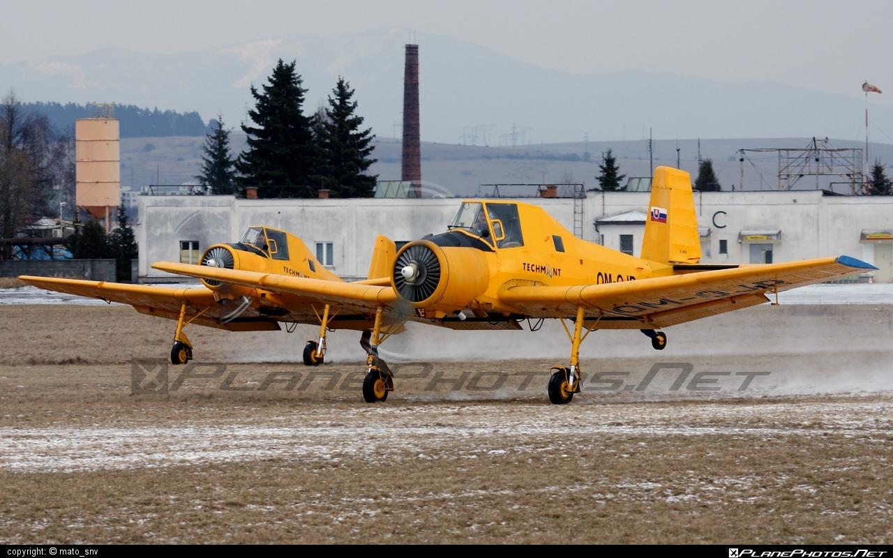 Zlin Z-37A Čmelák - OM-OJR operated by TECH-MONT Helicopter company #cmelak #z37 #z37a #zlin #zlin37 #zlin37cmelak