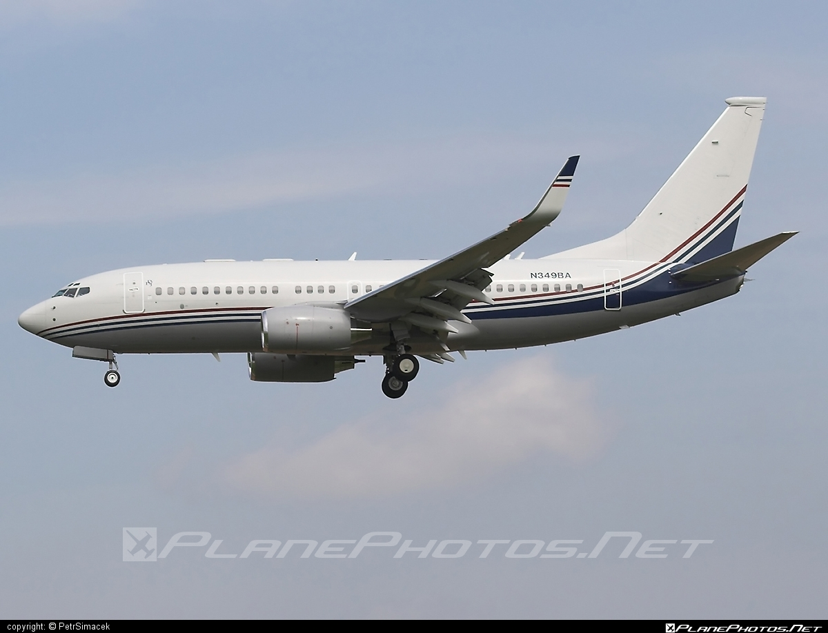 Boeing 737-700 BBJ - N349BA operated by Private operator #b737 #b737bbj #bbj #boeing #boeing737 #boeingbusinessjet