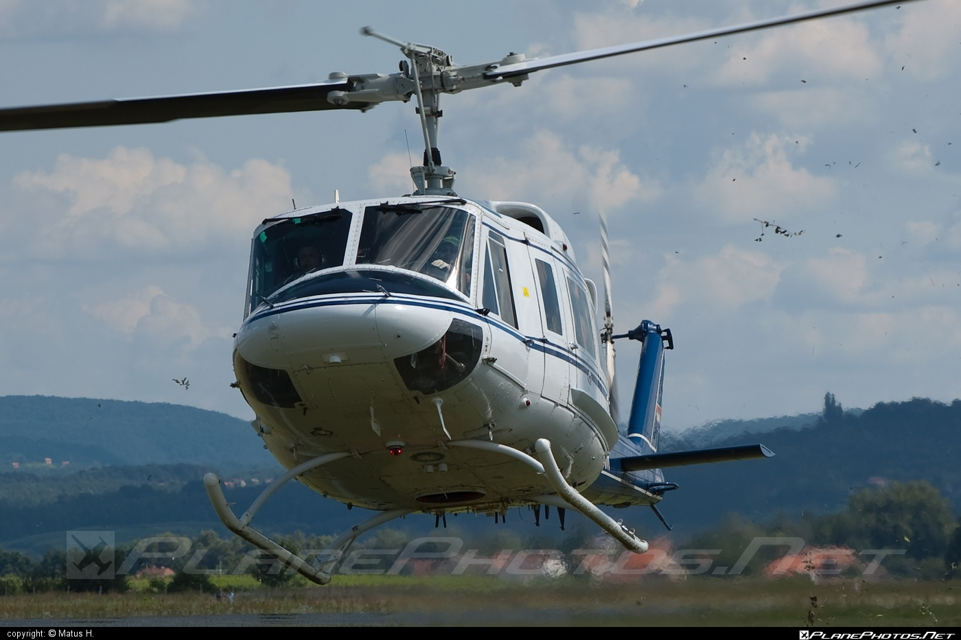 Agusta Bell AB-212 - 9A-HBM operated by Croatia - Police #agustabell
