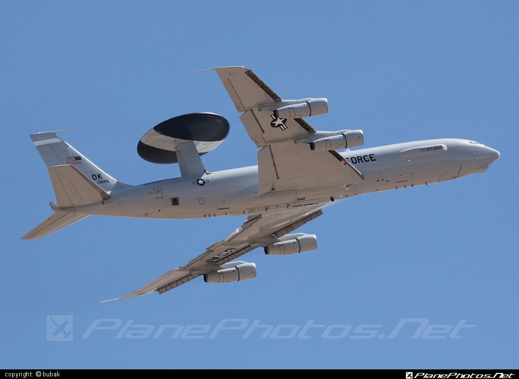 Boeing E-3B Sentry - 79-0003 operated by US Air Force (USAF) #boeing #usaf #usairforce
