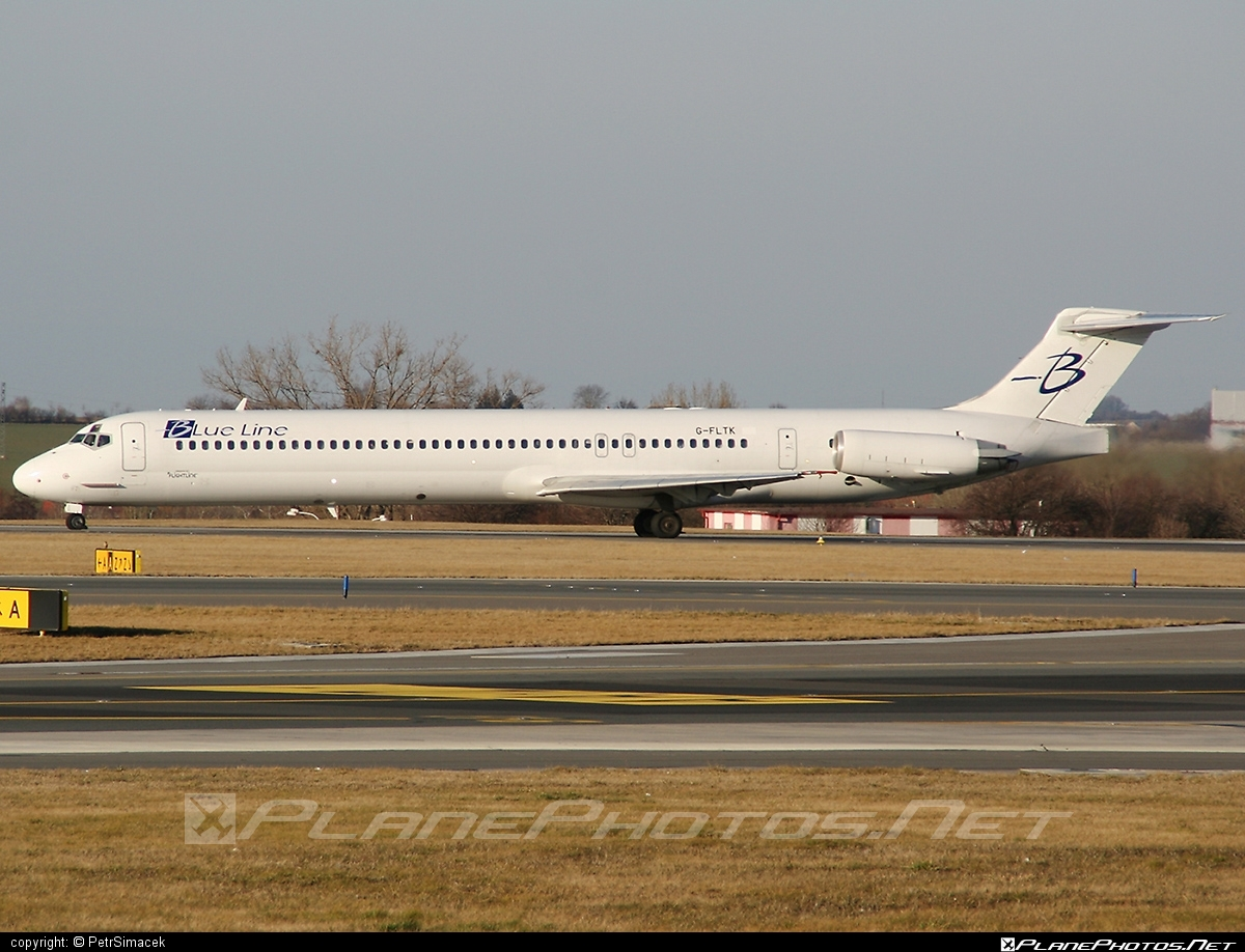 McDonnell Douglas MD-83 - G-FLTK operated by Blue Line #mcdonnelldouglas #mcdonnelldouglas80 #mcdonnelldouglas83 #mcdonnelldouglasmd80 #mcdonnelldouglasmd83 #md80 #md83