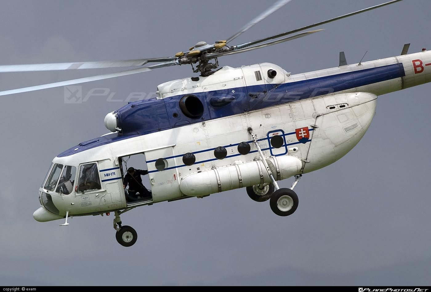 Mil Mi-171 - B-1770 operated by Letecký útvar MV SR (Slovak Government Flying Service) #mi171 #mil #mil171 #milhelicopters
