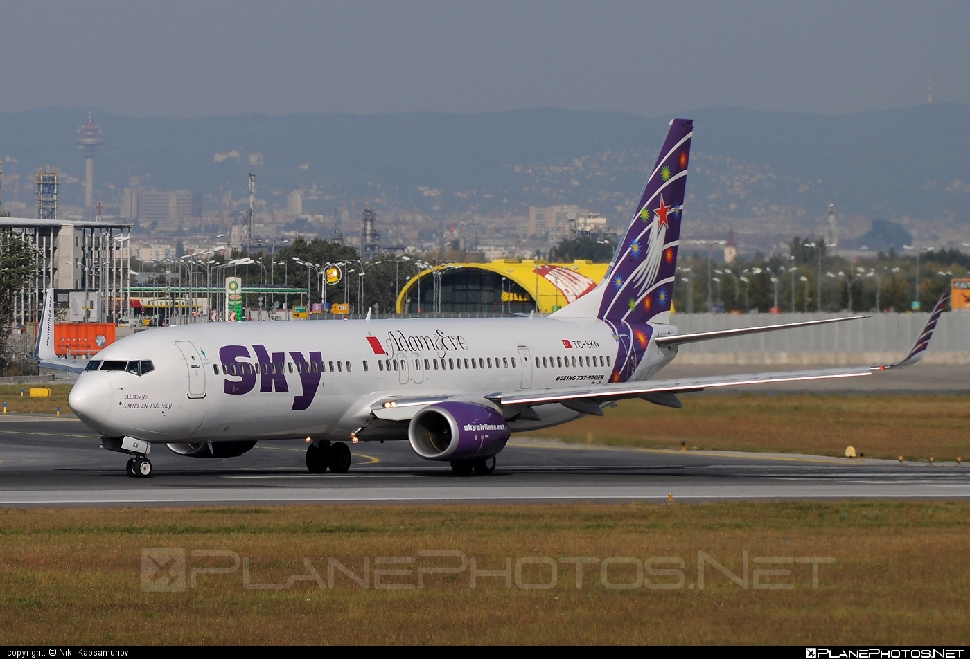 Boeing 737-900ER - TC-SKN operated by Sky Airlines #b737 #b737er #b737nextgen #b737ng #boeing #boeing737