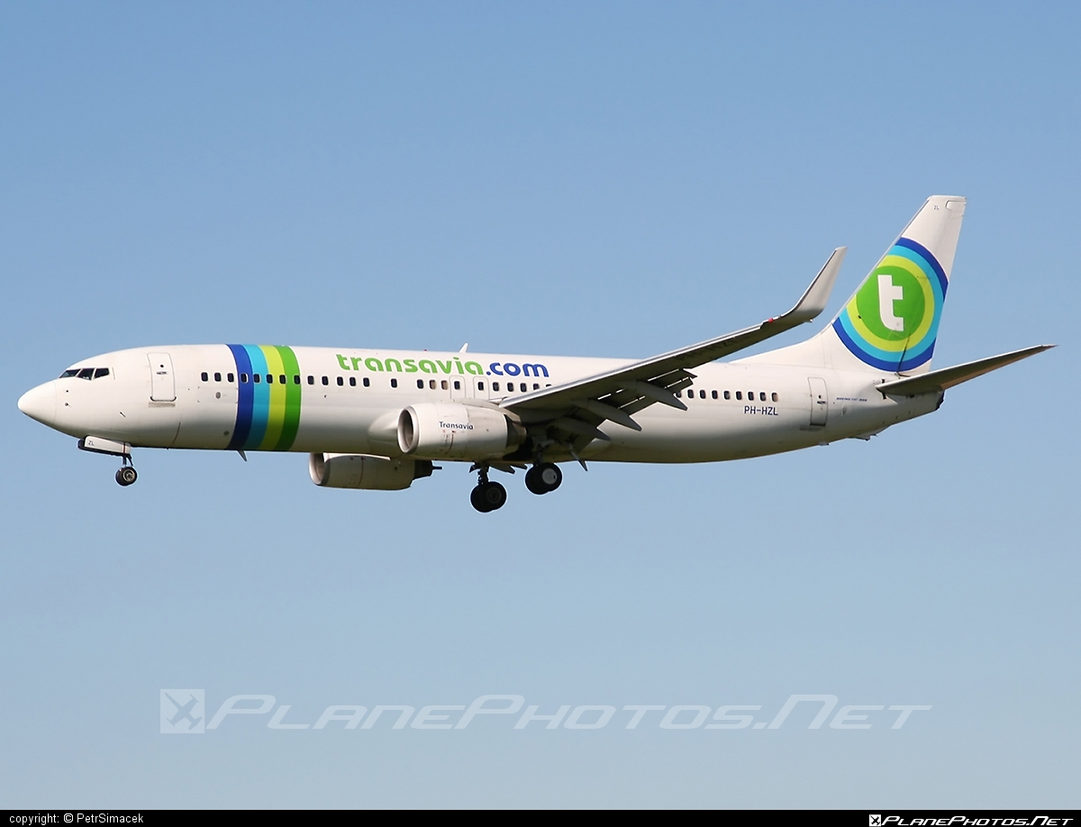 Boeing 737-800 - PH-HZL operated by Transavia Airlines #b737 #b737nextgen #b737ng #boeing #boeing737 #transavia #transaviaairlines