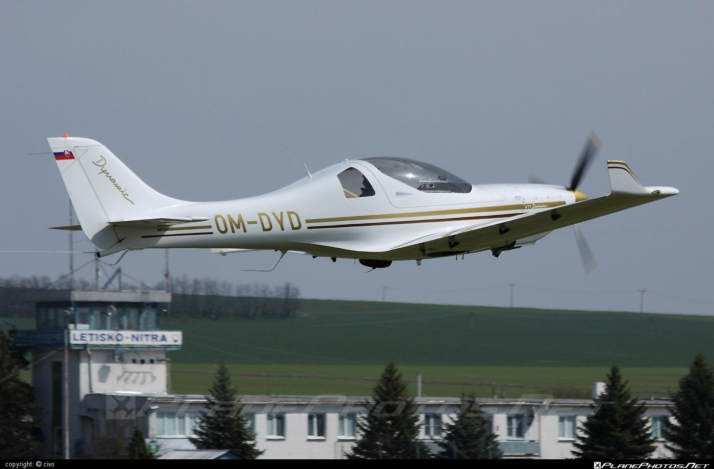 Aerospool WT9 Dynamic - OM-DYD operated by Private operator #aerospool #wt9 #wt9dynamic
