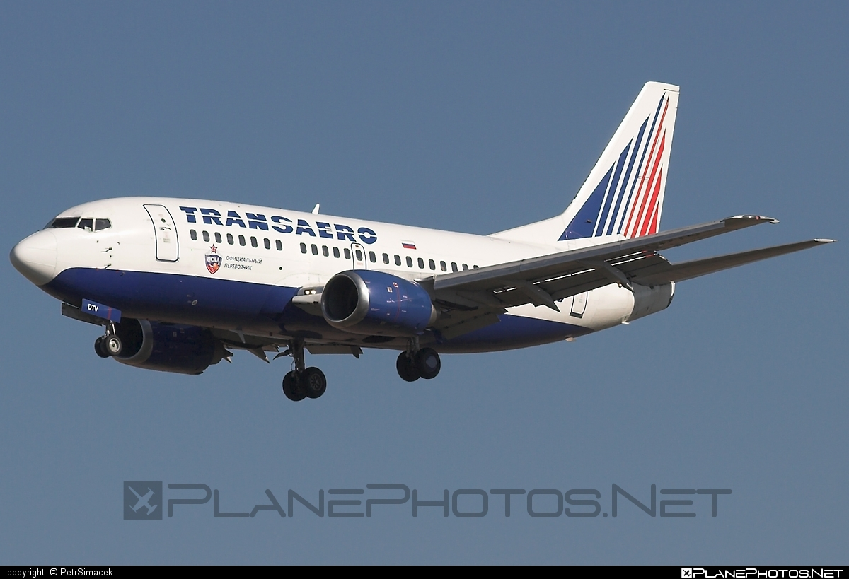 Boeing 737-500 - EI-DTV operated by Transaero Airlines #b737 #boeing #boeing737