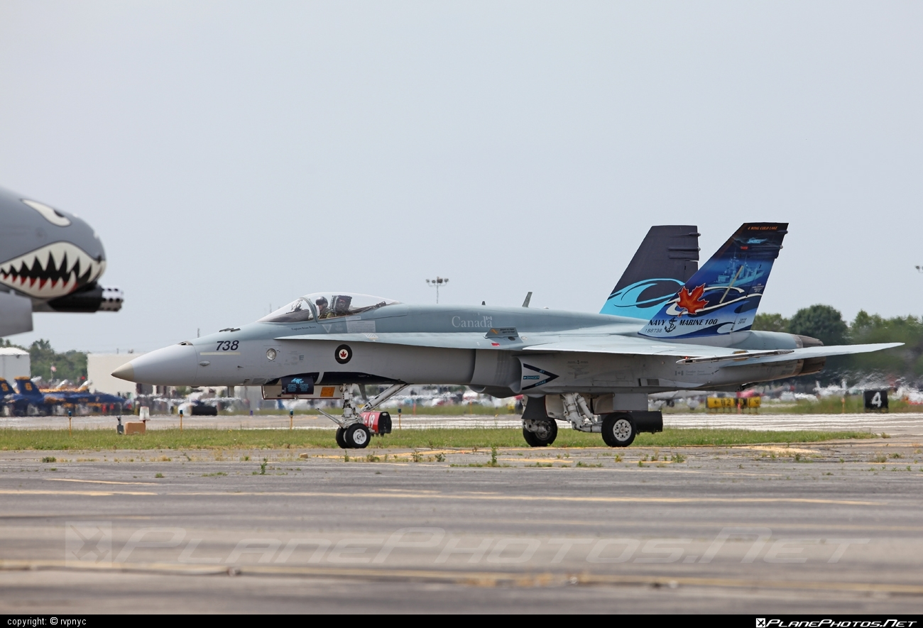 McDonnell Douglas CF-188A Hornet - 188738 operated by Canadian Armed Forces #cf188 #cf188a #cf188hornet #f18 #f18hornet #mcdonnelldouglas