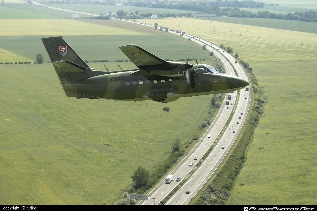 Let L-410T Turbolet - 0927 operated by Vzdušné sily OS SR (Slovak Air Force) #L410 #L410Turbolet #L410t #L410tTurbolet #let #slovakairforce #turbolet #vzdusnesilyossr