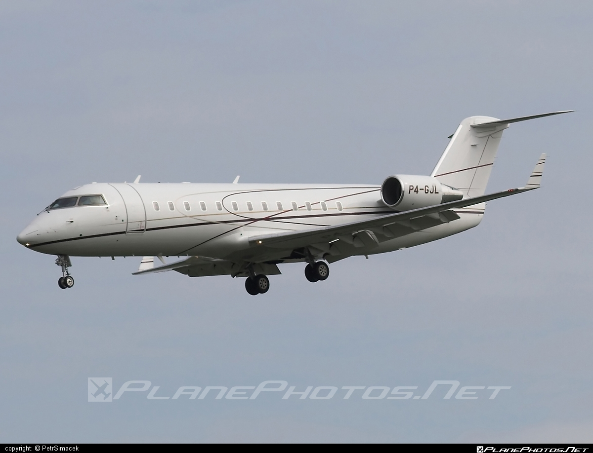 Bombardier Challenger 850 (CL-600-2B19) - P4-GJL operated by Private operator #bombardier #challenger850 #cl6002b19