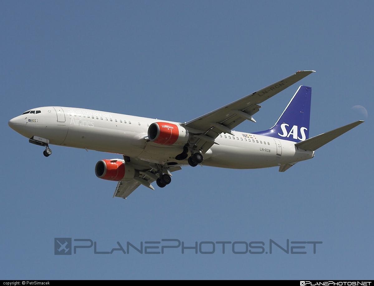 Boeing 737-800 - LN-RCN operated by Scandinavian Airlines (SAS) #b737 #b737nextgen #b737ng #boeing #boeing737 #sas #sasairlines #scandinavianairlines