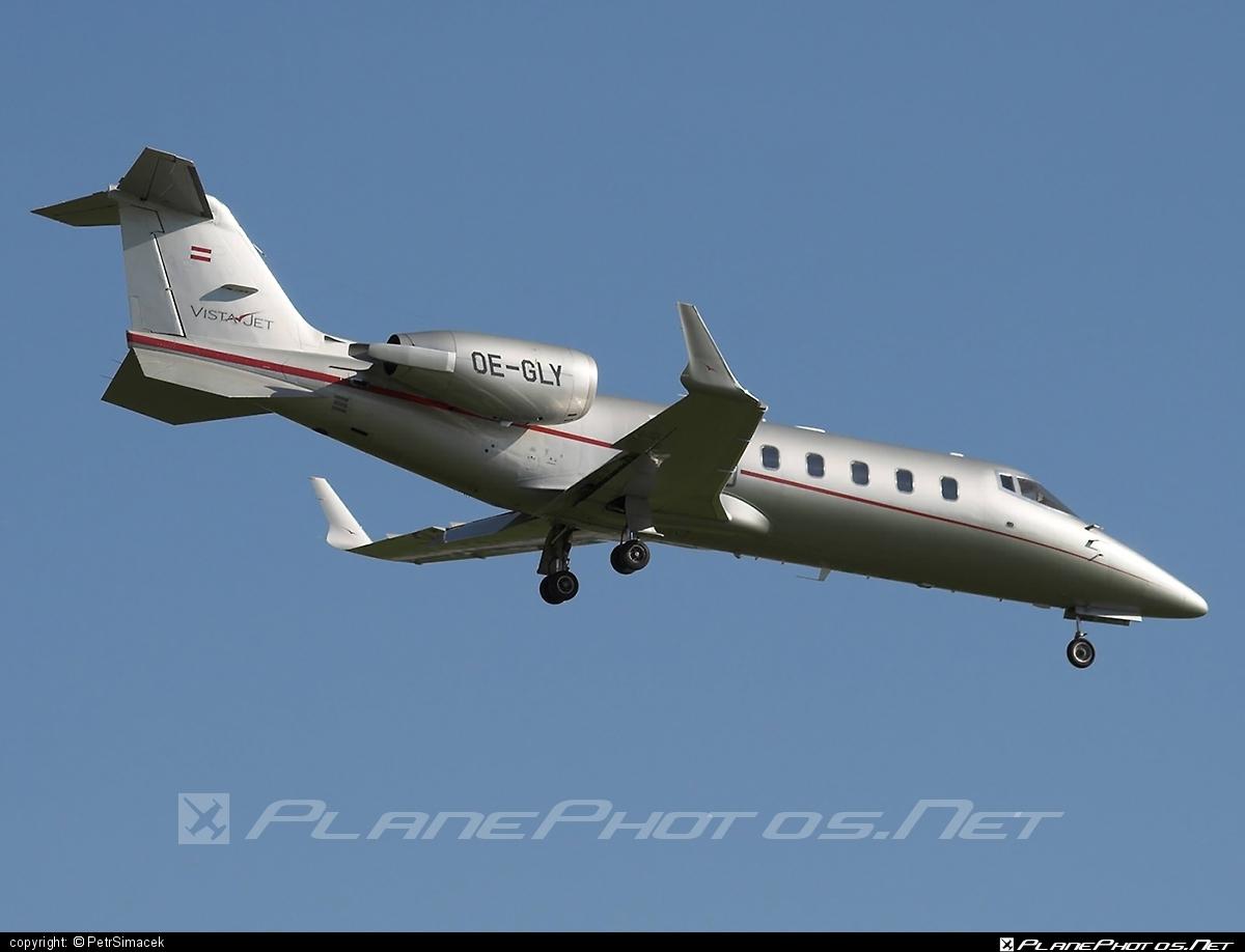 Bombardier Learjet 60XR - OE-GLY operated by VistaJet #bombardier #learjet #learjet60 #learjet60xr #vistajet