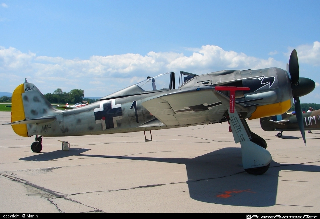 Flug Werk FW 190A-8/N - F-AZZJ operated by Private operator #flugwerk