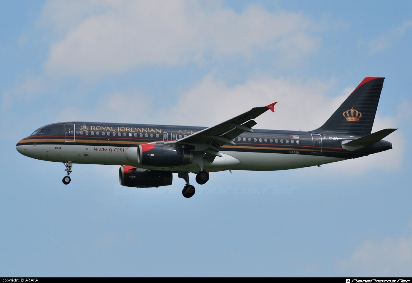 Airbus A320-232 - F-OHGV operated by Royal Jordanian #a320 #a320family #airbus #airbus320
