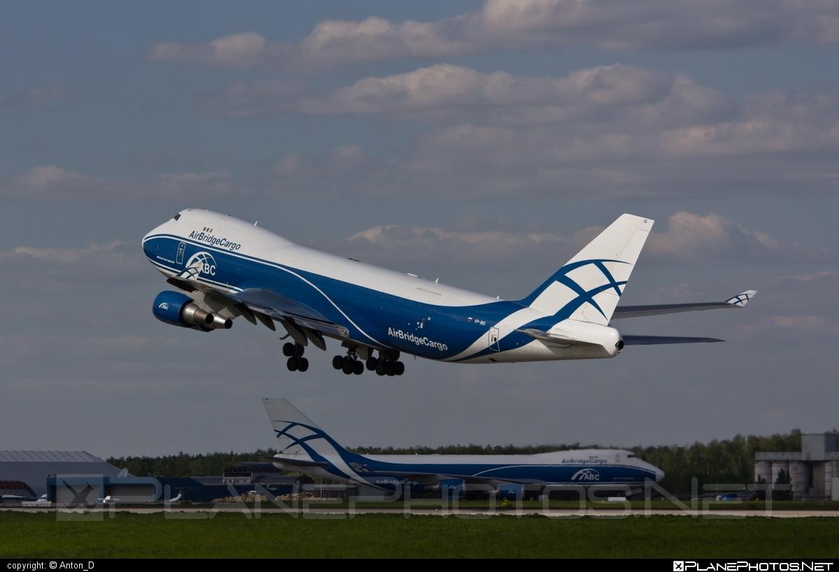 Boeing 747-400ERF - VP-BIG operated by AirBridgeCargo #airbridgecargo #b747 #b747erf #b747freighter #boeing #boeing747 #jumbo
