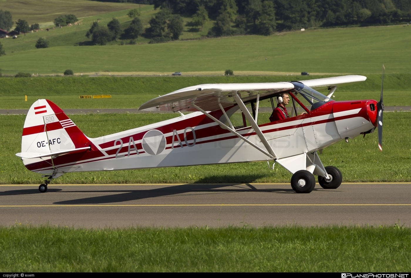 Piper PA-18-95 Super Cub - OE-AFC operated by Private operator #piper