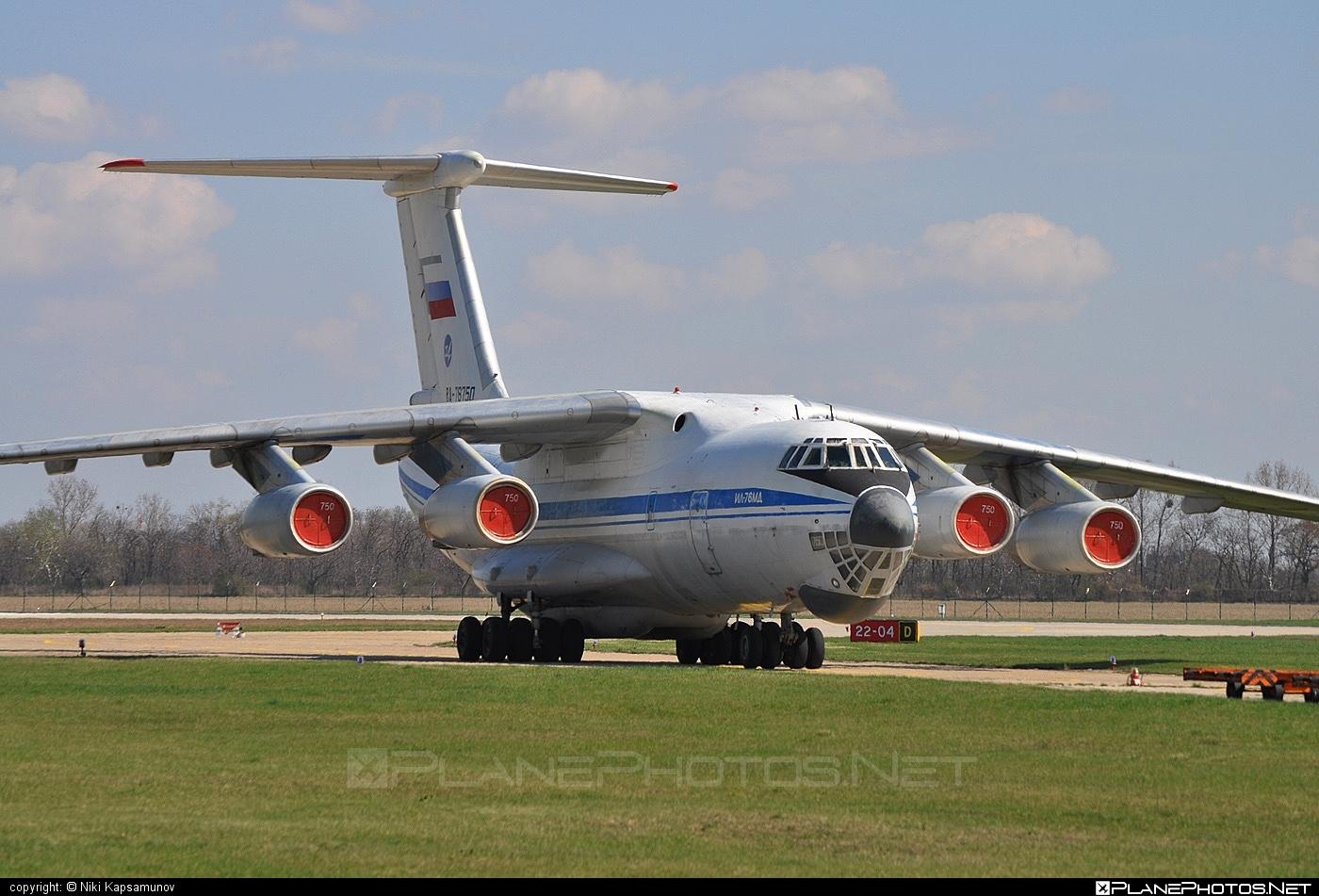 Ilyushin Il-76MD - RA-78750 operated by Voyenno-vozdushnye sily Rossii (Russian Air Force) #il76 #il76md #ilyushin