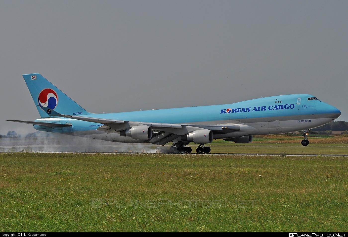 Boeing 747-400ERF - HL7600 operated by Korean Air Cargo #b747 #b747erf #b747freighter #boeing #boeing747 #jumbo #koreanair #koreanaircargo