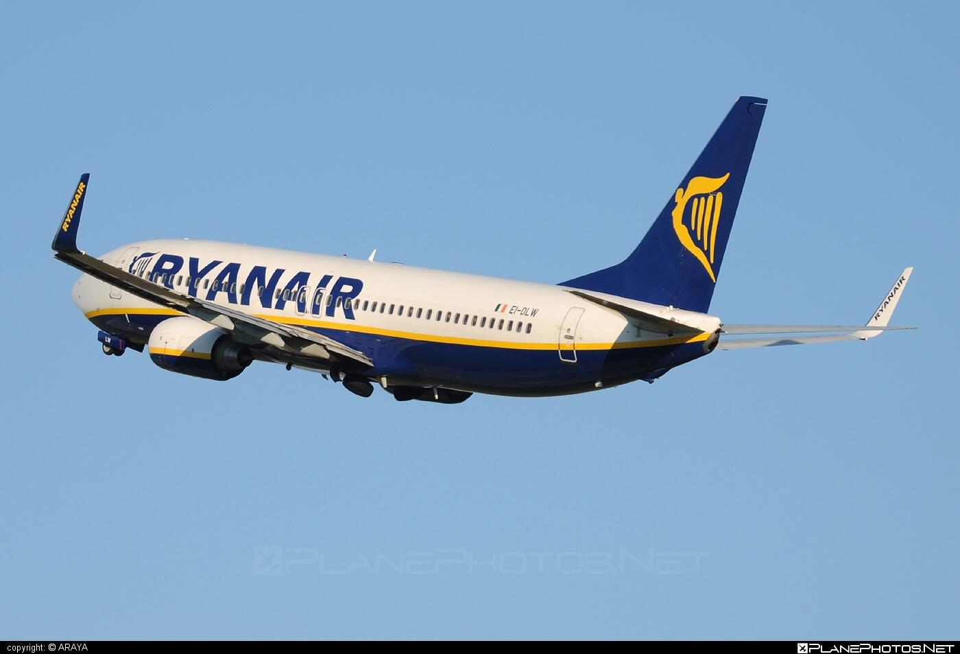 Boeing 737-800 - EI-DLW operated by Ryanair #b737 #b737nextgen #b737ng #boeing #boeing737 #ryanair